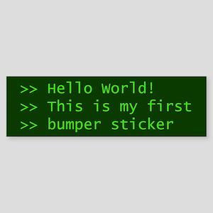 Computer Science Bumper Sticker