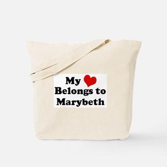 My Heart: Marybeth Tote Bag