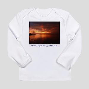 Montego Bay Sunset Long Sleeve Infant T-Shirt