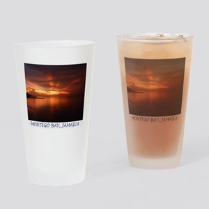 Montego Bay Sunset Drinking Glass