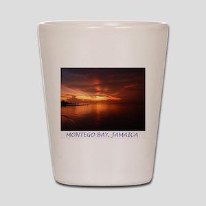 Montego Bay Sunset Shot Glass