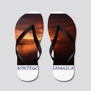 Montego Bay Sunset Flip Flops