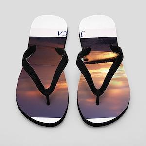 Jamaica Sunset Flip Flops