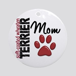 Soft-Coated Wheaten Terrier Mom 2 Ornament (Round)