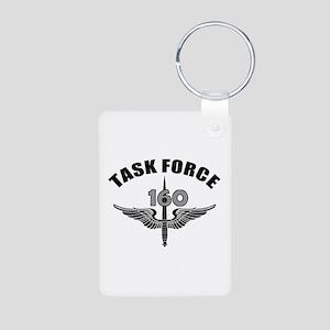 Task Force 160 Aluminum Photo Keychain