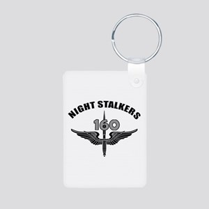 Night Stalkers TF-160 Aluminum Photo Keychain