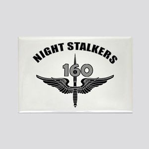 Night Stalkers TF-160 Rectangle Magnet