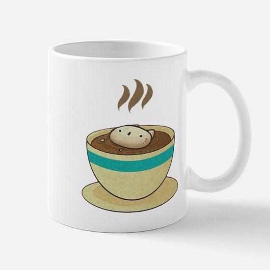 Kitty Loves Coffee (w & w/o t Mug