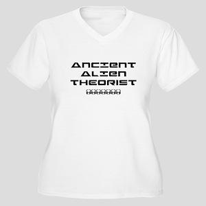 Ancient Aliens Women's Plus Size V-Neck T-Shirt