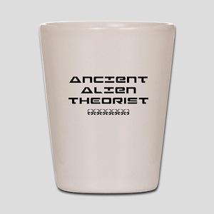 Ancient Aliens Shot Glass