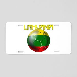 Lithuanian Football Aluminum License Plate