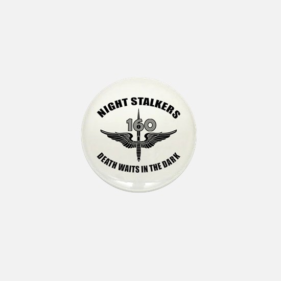 Night Stalkers TF-160 Mini Button