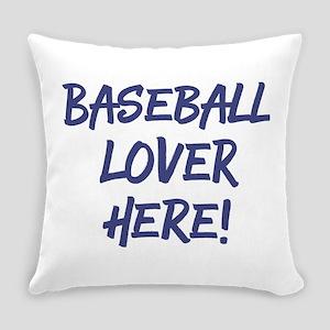 Baseball Lover Everyday Pillow