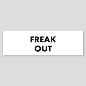 Freak Out Sticker (Bumper)