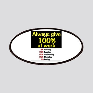100% Patches