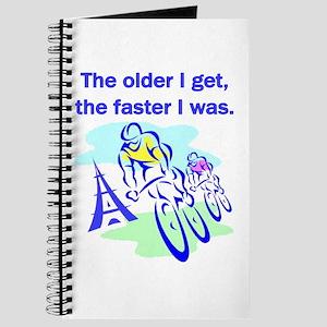 The older I get... Journal