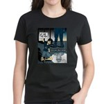 Occupy Wall St female protest Women's Dark T-Shirt