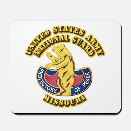 Army National Guard - Missouri Mousepad
