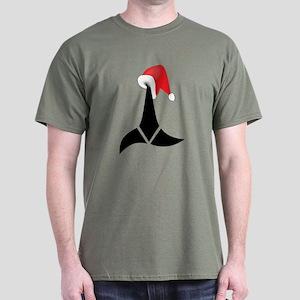 Klingon Christmas Dark T-Shirt