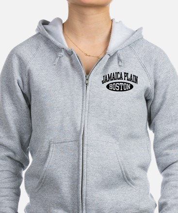 Jamaica Plain Boston Zip Hoodie
