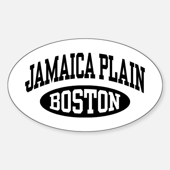Jamaica Plain Boston Sticker (Oval)