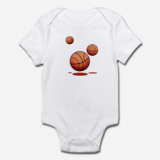 Basketball (D) Infant Bodysuit