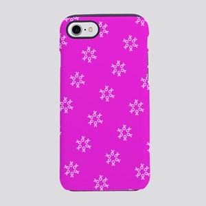 Pink Ribbon Breast Cancer 4Eri iPhone 7 Tough Case