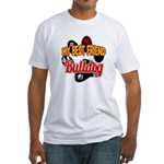 Bulldog Best Friend Fitted T-Shirt