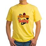Bulldog Best Friend Yellow T-Shirt