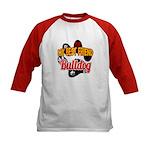 Bulldog Best Friend Kids Baseball Jersey