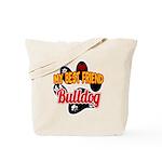 Bulldog Best Friend Tote Bag
