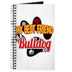 Bulldog Best Friend Journal