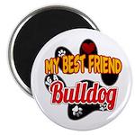 Bulldog Best Friend Magnet