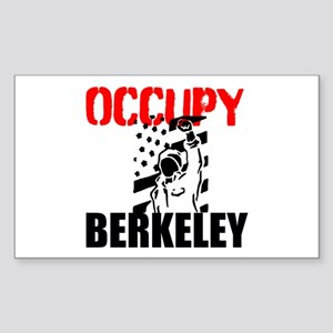 Occupy Berkeley Sticker (Rectangle)