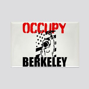 Occupy Berkeley Rectangle Magnet