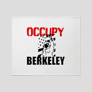 Occupy Berkeley Throw Blanket