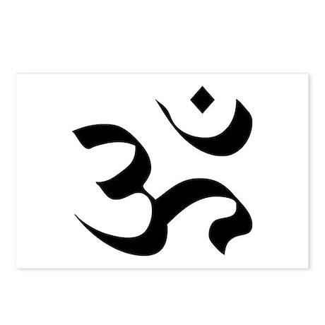 Om Meditation Symbol Postcards (Package of 8)