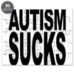 Autism Sucks Puzzle