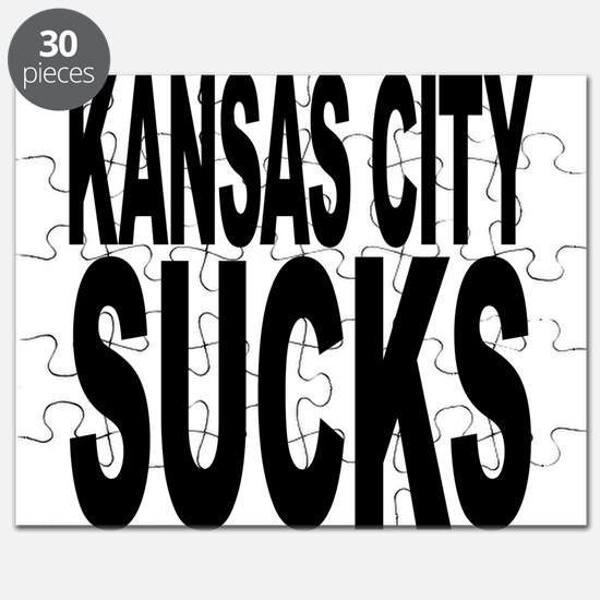 Kansas City Sucks Puzzle