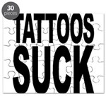 Tattoos Suck Puzzle