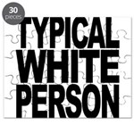 Typical White Person Puzzle