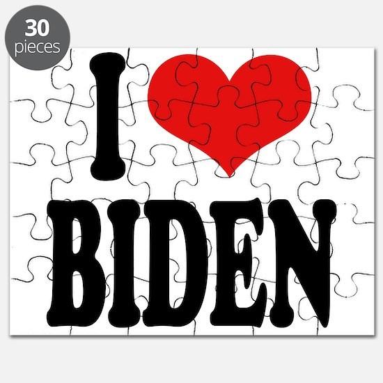 I Love Biden Puzzle