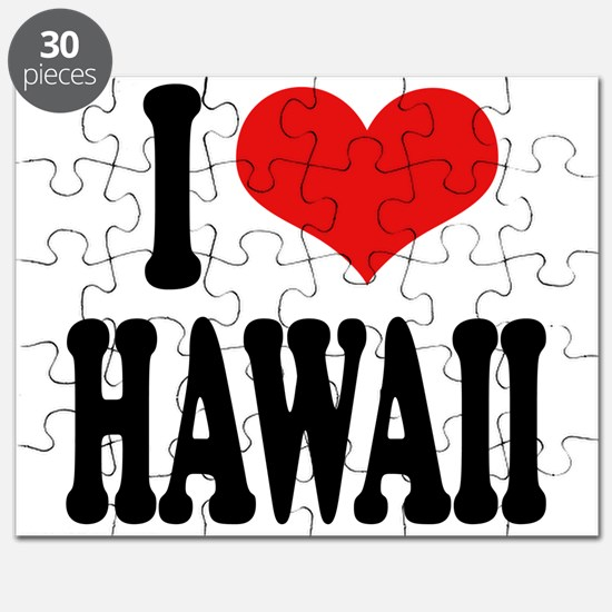 I Love Hawaii Puzzle