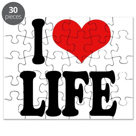 I Love Life Puzzle