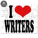 I Love Writers Puzzle