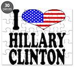 I Love Hillary Clinton Puzzle