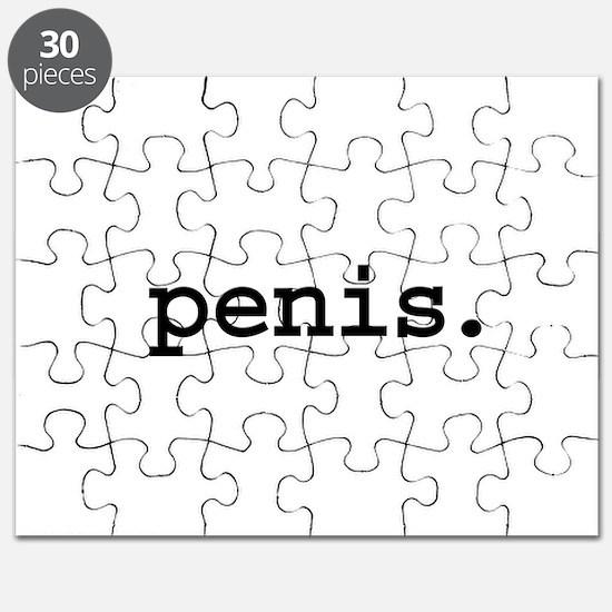 penis. Puzzle
