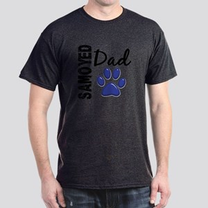 Samoyed Dad 2 Dark T-Shirt