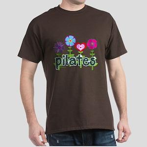 Pilates Garden by Svelte.biz Dark T-Shirt