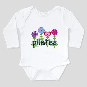 Pilates Garden by Svelte.biz Long Sleeve Infant Bo